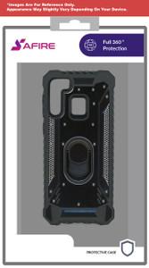 Lg K51 MM Magnetic Rugged Case W ks Black