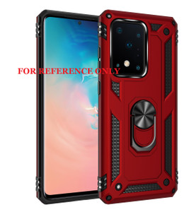 Samsung A21 MM Rugged Ringstand Red