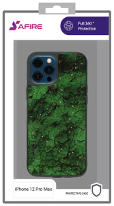Iphone 12 Pro Max MM Marble Case Jade