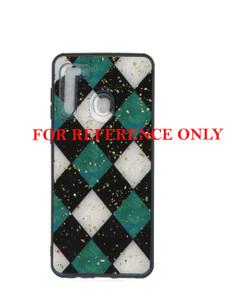 Samsung A21 MM Marble Multi-color Checks