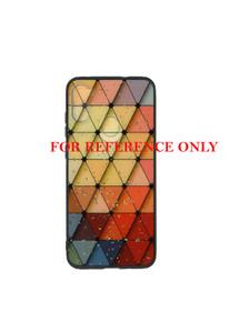 Motorola E7  MM Marble Colorful Triangle Squad