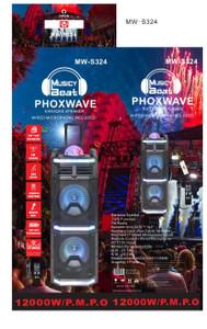 Party Speaker Phoxwave MW-S324