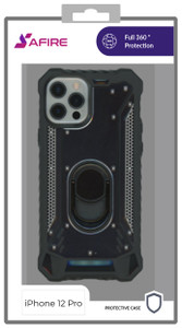 Iphone 12/12 Pro (6.1) MM Magnetic Rugged Case Black