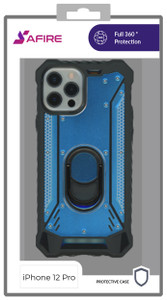 Iphone 12/12 Pro (6.1) MM Magnetic Rugged Case Navy Blue