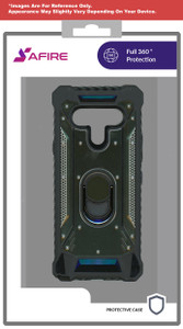 Iphone 12/12 Pro (6.1) MM Magnetic Rugged Case Army Green