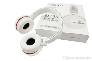 Bluetooth Extra Base Headphones White