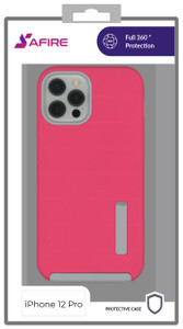 Iphone 12 Pro (6.1) MM Deluxe Brushed Case Hot Pink
