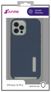 Iphone 12/12 Pro (6.1) MM Deluxe Brushed Case Navy