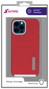 Iphone 12 Pro Max MM Deluxe Brushed Red