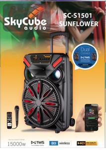 Bluetooth Speaker SC-1501 Sunflower