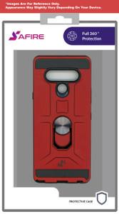 Revvl 4 MM Ringstand Case Red