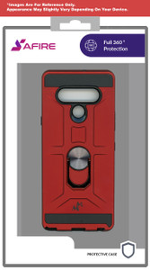 Revvl 4+ MM Ringstand Case Red