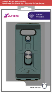 Revvl 4+ MM Ringstand Case Army Green