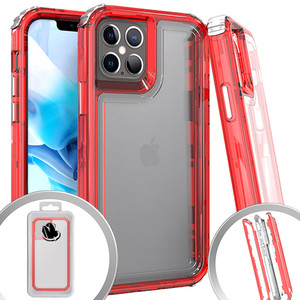 Iphone 12/12 Pro MM Rugged Hybrid Case Red