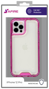 Iphone 12/12 Pro (6.1) MM Rugged Hybrid Case Pink