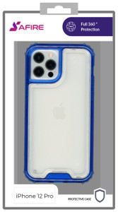 Iphone 12/12 Pro (6.1) MM Rugged Hybrid Case Blue