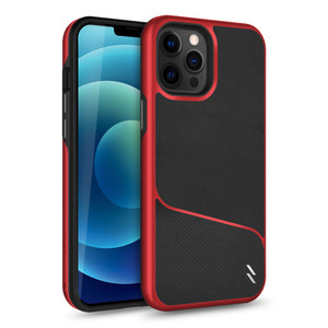 Iphone 12 Pro Max 6.7 Zizo Division Series Black & Red