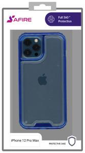 Iphone 12 Pro Max MM Rugged Hybrid Case Blue