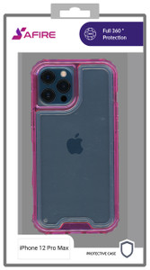 Iphone 12 Pro Max MM Rugged Hybrid Case Pink