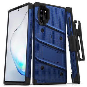 Samsung Note 10 Pro/Plus Zizo Bolt Series Case W Clip Blue