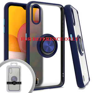 Samsung Note 20 MM Clear Magnet Ring Stand Case Navy