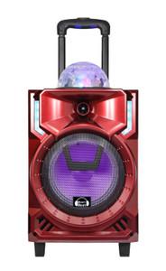 Bluetooth Karaoke Speaker Everest MW-S314 Red