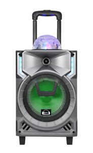 Bluetooth Karaoke Speaker Everest MW-S314 Silver