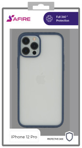 Iphone 12/12 Pro (6.1) MM Clear Rugged Case Navy