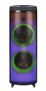 Party Karaoke Speaker Halo LED