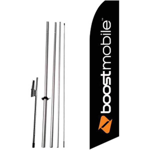 Boost Mobile Feather Flag Whole Set