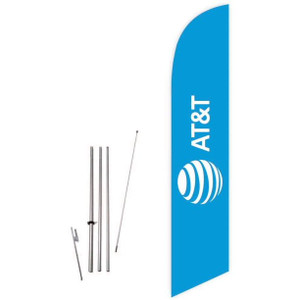 AT&T Mobile Feather Flag Whole Set
