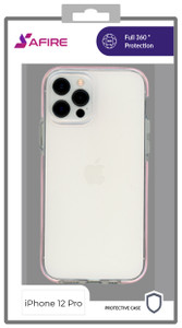 Iphone 12/12 Pro (6.1) MM Clear Side Spine Case Pink