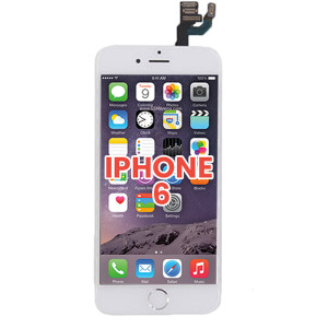 iPhone 6 LCD with Touch And Back Plate White