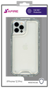 iPhone 12/12 Pro MM Rugged Hybrid Case Clear