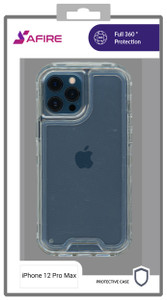 iPhone 12 Pro Max MM Rugged Hybrid Case Clear