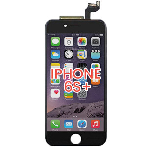 iPhone 6S Plus LCD with Touch And Back Plate Black