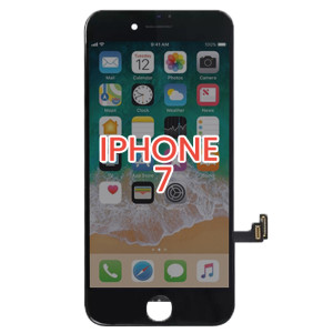 iPhone 7 LCD with Touch And Back Plate Black