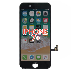 iPhone 7 Plus LCD with Touch And Back Plate Black