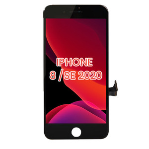iPhone 8/SE(2020) LCD with Touch And Back Plate Black