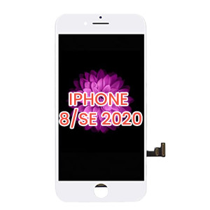 iPhone 8/SE(2020) LCD with Touch And Back Plate White