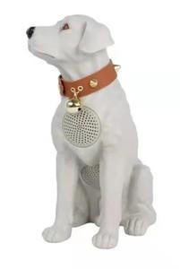 M217 Dobermann Dog Bluetooth Speaker White