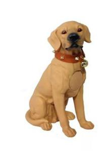 M211 Large Dobermann Dog Bluetooth Speaker Brown