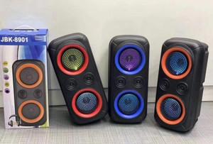JBK-8900 Bluetooth LED Party Speaker Red