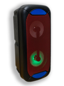JBK-8900 Bluetooth LED Party Speaker Red