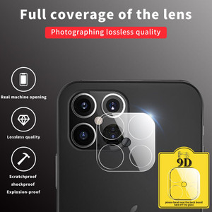 iPhone 12 Pro Max Tempered Glass Camera Lens Protector
