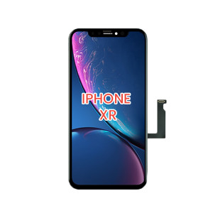 iPhone XR LCD With Touch and Back Plate Black