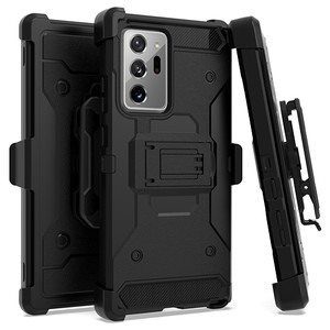 Samsung Note 20 Ultra Heavy Duty Tactical Combo Black