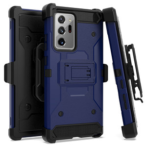 Samsung Note 20 Ultra Heavy Duty Tactical Combo Navy