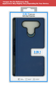 Samsung S20 Plus MM Rugged Holster W Clip Navy