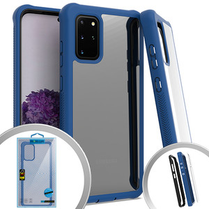 Samsung S20 Plus MM Clear Rugged Case Navy